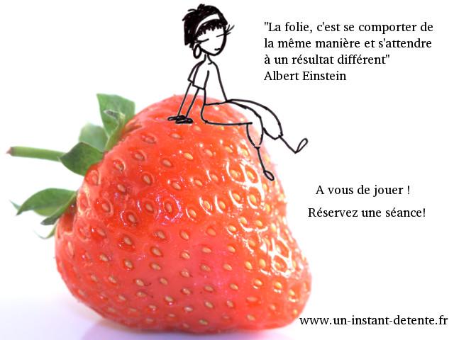 Utopia sur une fraise - Einstein